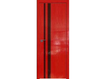 Двери межкомнатные Profil Doors 16STK Pine Red glossy коричневый лак