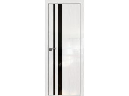 Двери межкомнатные Profil Doors 16STK Pine White glossy чёрный лак