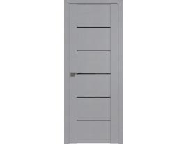 Двери межкомнатные Profil Doors STP99 Pine Manhattan Grey триплекс черный