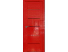 Двери межкомнатные Profil Doors STP99 Pine Red glossy триплекс черный