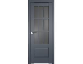 Двери межкомнатные Profil Doors 104U Антрацит графит