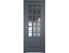 Двери межкомнатные Profil Doors 104U Антрацит прозрачное