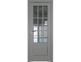 Двери межкомнатные Profil Doors 104U Грей прозрачное