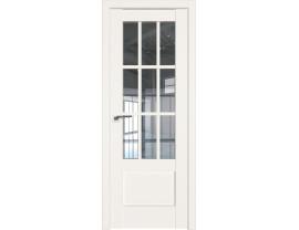 Двери межкомнатные Profil Doors 104U Дарквайт прозрачное