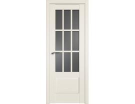 Двери межкомнатные Profil Doors 104U Магнолия сатинат графит