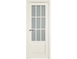 Двери межкомнатные Profil Doors 104U Магнолия сатинат матовое