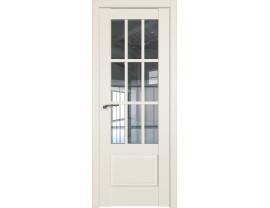 Двери межкомнатные Profil Doors 104U Магнолия сатинат прозрачное