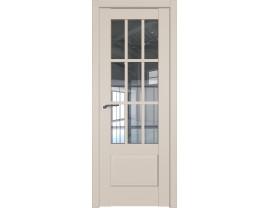 Двери межкомнатные Profil Doors 104U Санд прозрачное