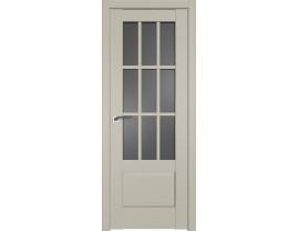 Двери межкомнатные Profil Doors 104U Шеллгрей графит