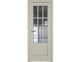 Двери межкомнатные Profil Doors 104U Шеллгрей прозрачное