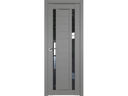 Двери межкомнатные Profil Doors 15U Грей дождь чёрный
