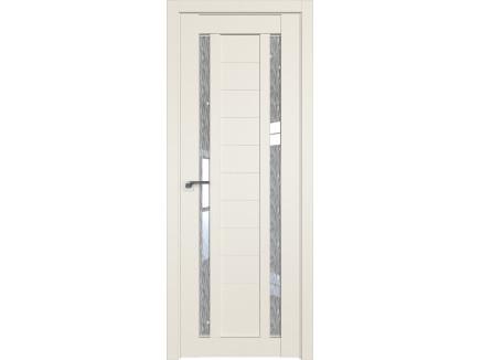 Двери межкомнатные Profil Doors 15U Магнолия сатинат дождь белый