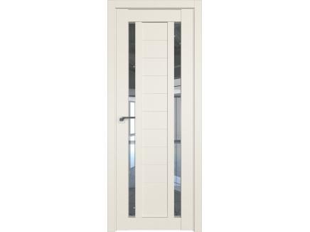 Двери межкомнатные Profil Doors 15U Магнолия сатинат прозрачное