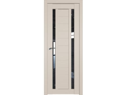 Двери межкомнатные Profil Doors 15U Санд дождь чёрный