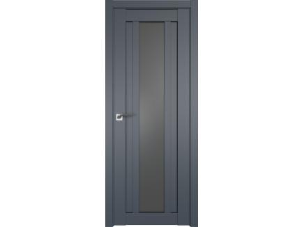 Двери межкомнатные Profil Doors 16U Антрацит графит
