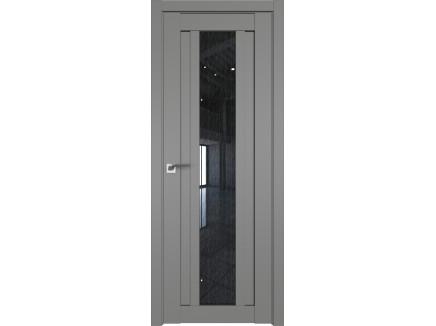 Двери межкомнатные Profil Doors 16U Грей дождь чёрный