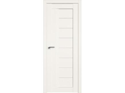 Двери межкомнатные Profil Doors 17U Дарквайт белый триплекс молдинг в цвет