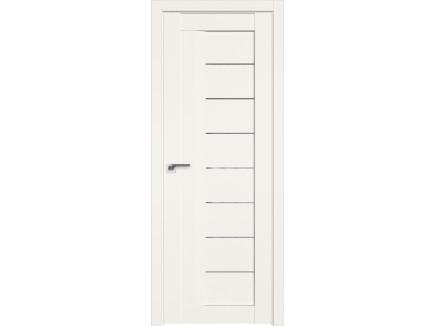 Двери межкомнатные Profil Doors 17U Дарквайт прозрачное молдинг в цвет