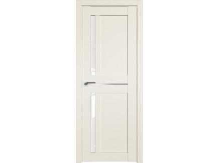 Двери межкомнатные Profil Doors 19U Магнолия сатинат белый триплекс