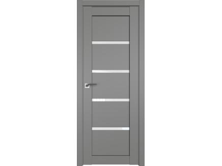 Двери межкомнатные Profil Doors 2.09U Грей белый триплекс