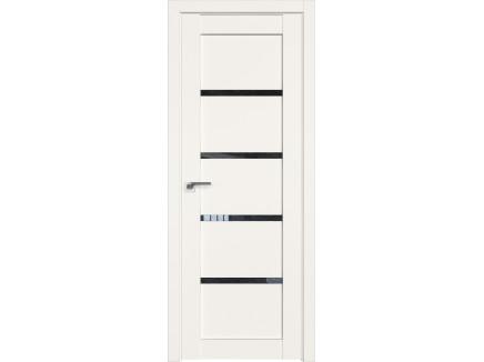 Двери межкомнатные Profil Doors 2.09U Дарквайт дождь чёрный
