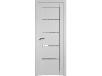 Двери межкомнатные Profil Doors 2.09U Манхэттен дождь белый
