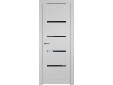 Двери межкомнатные Profil Doors 2.09U Манхэттен дождь чёрный