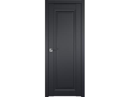 Двери межкомнатные Profil Doors 2.100U Чёрный матовый