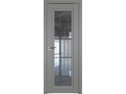 Двери межкомнатные Profil Doors 2.101U Грей прозрачное