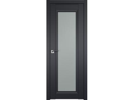 Двери межкомнатные Profil Doors 2.101U Чёрный матовый матовое