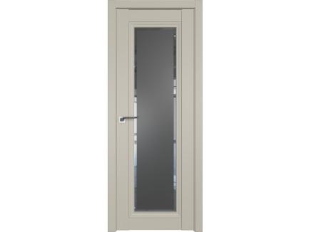 Двери межкомнатные Profil Doors 2.101U Шеллгрей square графит