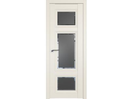 Двери межкомнатные Profil Doors 2.105U Магнолия сатинат square графит