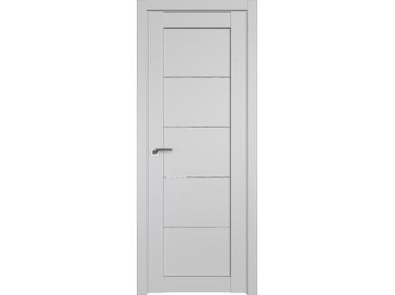 Двери межкомнатные Profil Doors 2.11U Манхэттен дождь белый