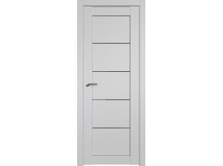 Двери межкомнатные Profil Doors 2.11U Манхэттен чёрный триплекс