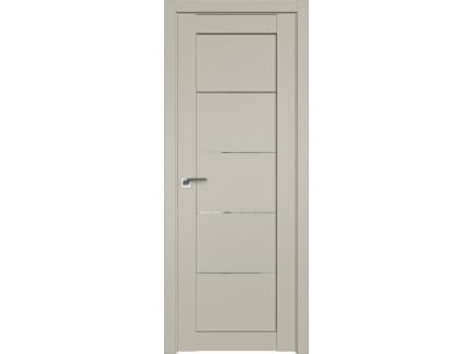 Двери межкомнатные Profil Doors 2.11U Шеллгрей прозрачное