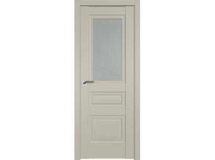 Двери межкомнатные Profil Doors 2.39U Шеллгрей франческо кристалл