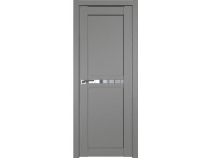 Двери межкомнатные Profil Doors 2.43U Грей прозрачное