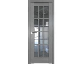 Двери межкомнатные Profil Doors 102XN грувд серый прозрачное