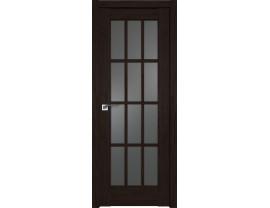 Двери межкомнатные Profil Doors 102XN даркбраун графит