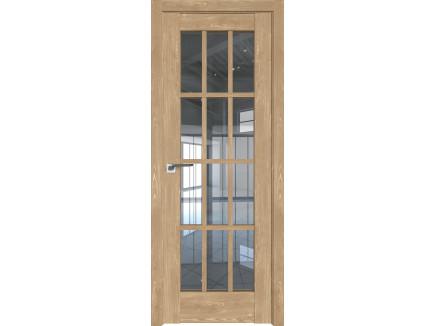 Двери межкомнатные Profil Doors 102XN каштан натуральный прозрачное