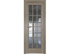Двери межкомнатные Profil Doors 102XN каштан тёмный прозрачное