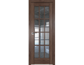 Двери межкомнатные Profil Doors 102XN салинас тёмный прозрачное
