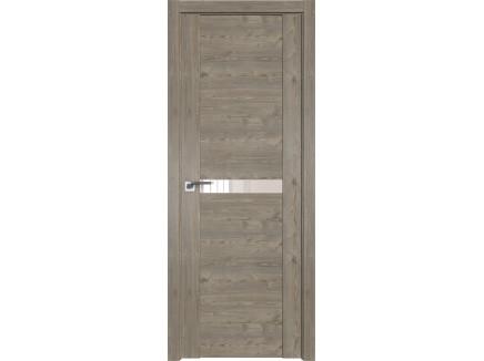 Двери межкомнатные Profil Doors 2.01XN каштан тёмный перламутровый лак