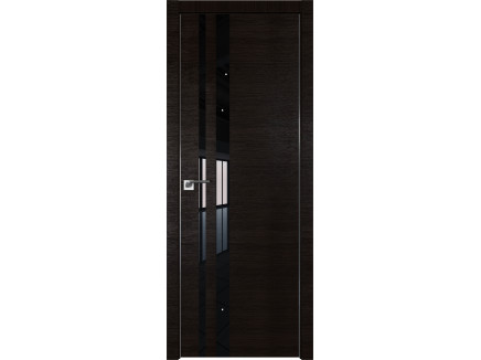 Двери межкомнатные Profil Doors 16Z Венге кроскут чёрный лак