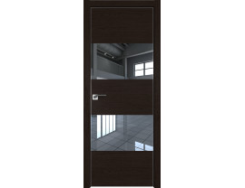 Двери межкомнатные Profil Doors 10ZN Даркбраун зеркало