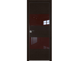 Двери межкомнатные Profil Doors 10ZN Даркбраун лак коричневый