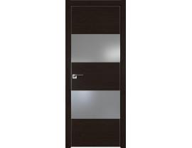 Двери межкомнатные Profil Doors 10ZN Даркбраун серебро матлак