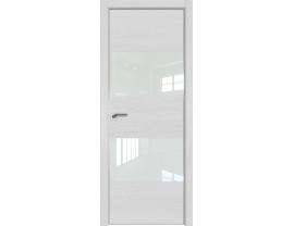 Двери межкомнатные Profil Doors 10ZN Монблан лак белый