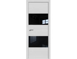 Двери межкомнатные Profil Doors 10ZN Монблан лак чёрный