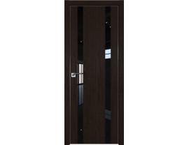 Двери межкомнатные Profil Doors 9ZN Даркбраун лак чёрный